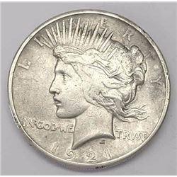 1921 Peace Dollar - First Peace Dollar