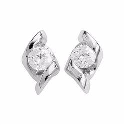 14k White Gold 1/4-ct. T.W. Diamond Stud Earrings