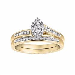 Diamond Engagement Ring Set in 10k Gold (1/5 Carat T.W.)