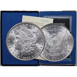 1882 CC GSA Morgan Silver Dollar in Case