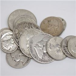 $4 Face Value 90% Silver Lot- Mixed and Random