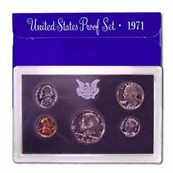 Mint Issued Proof Set - 1971 - Original Packaging