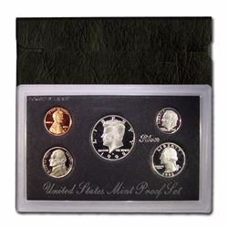 1992 Mint Issued SILVER Proof Set