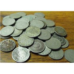 Lot of 50 V Nickels