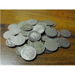 Lot of 50 V Liberty Nickels