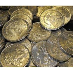 Lot of 50 Uncirculated Morgan Silver Dollars
