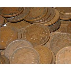 Lot of 200 Indian Head Pennies
