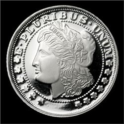 Private Mint Morgan SILVER Round! Bullion!