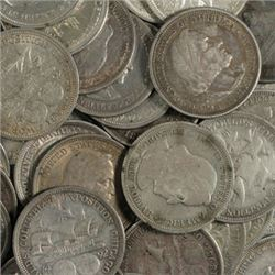 Lot of 10 -1892 or 1893 Columbian Expo Halves