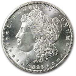 1883-0 Morgan Silver UNC Coin