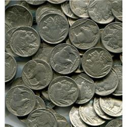 Lot of 200 Buffalo Nickels- From Asset Seizures