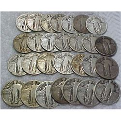 Standing Liberty Quarters (40 Count Roll)