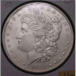 1881-O Morgan Silver Dollar - UNC