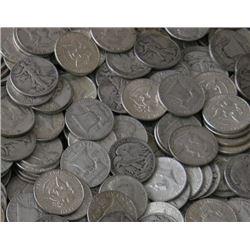 Lot of 50 90% Silver Half Dollars