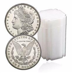 Lot of (20) BU - UNC Morgan Dollars
