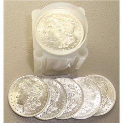 1921  BU Morgan Dollars in Roll
