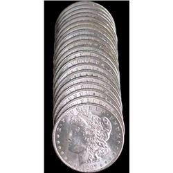 (20) UNC Morgan Dollars 1878-1900 Mixed