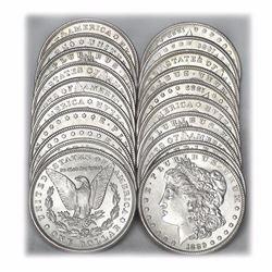 (20) 1880's BU Morgan Dollars
