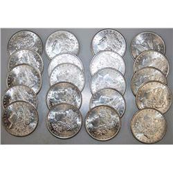 Lot of 20 BU Morgan Dollars