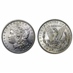 1880 S BU Morgan Silver Dollar