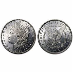 1879 P CH BU Morgan Silver Dollar