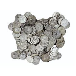 200 Pcs. $50 Face Value Washington Quarters 90%