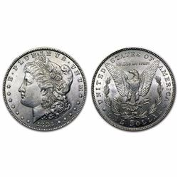 1883 P Bu Morgan Silver Dollar