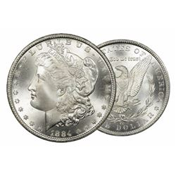 1884 Carson City BU Morgan Silver Dollar