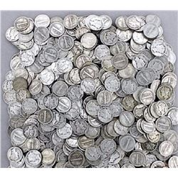 Lot of (100) Mercury Dimes -90% Silver