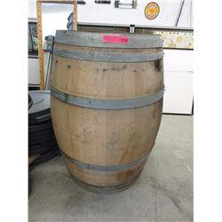 American Oak Wine Barrel