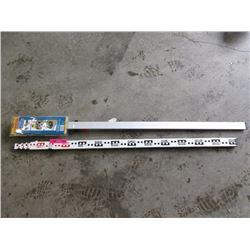 Survey Measure Stick & Straight Edge