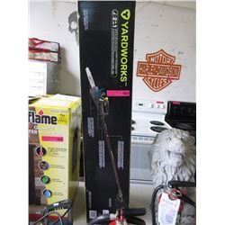 New Yardworks Convertible Pole Saw/Chainsaw