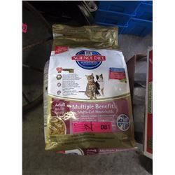 2 x 7 LB Bags of Dry Cat Food
