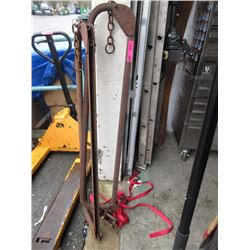 Pair of Cattle Stanchions