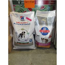 2 Bags of Hill's dry dog food