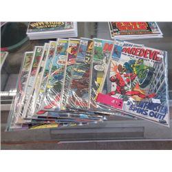 """11 Vintage """"Daredevil"""" comics"""