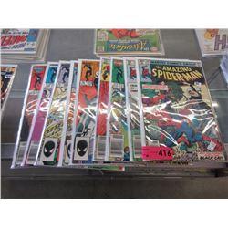 10 Vintage Amazing Spiderman comics