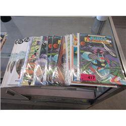 20 Assorted 1980's comic books