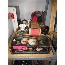 Decorative household objects - some vintage