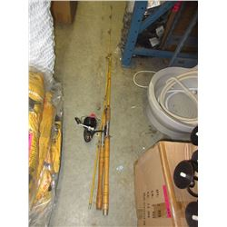 2 Vintage fishing rods