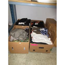 4 Cases of new clothing