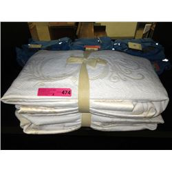 2 New Queen size zippered mattress protectors