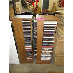 2 Towers of CDs & DVDs