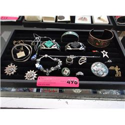 Collection of Silver, Gold Fill & Fashion Jewelry