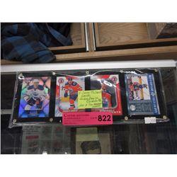 4 Connor McDavid hockey cards