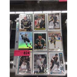 6 Pages of Mike Modano hockey cards