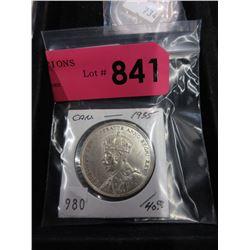 1935 Canadian Silver Dollar