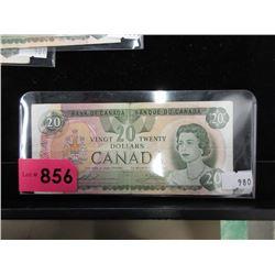 1979 Canadian $20 Bill