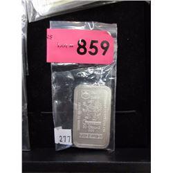 "50 Gram .999 Fine Silver ""Gryphon"" Bar"