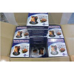 BOX OF 36 NON STICK CHICKEN ROASTERS